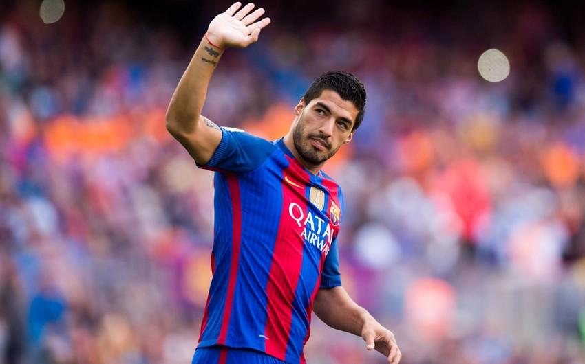 """Barselona"" Suaresin ""Atletiko""ya keçidini elan etdi"