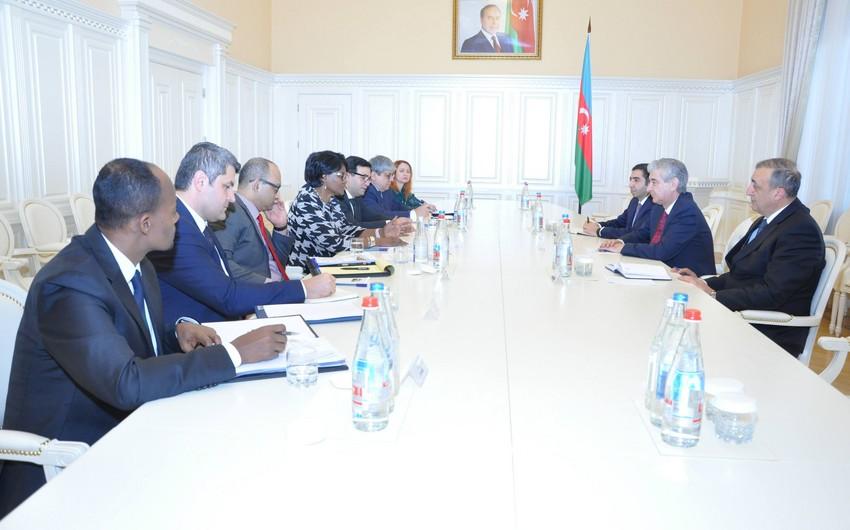 Baş nazirin müavini Dünya Bankının Qafqaz üzrə regional direktoru ilə görüşüb