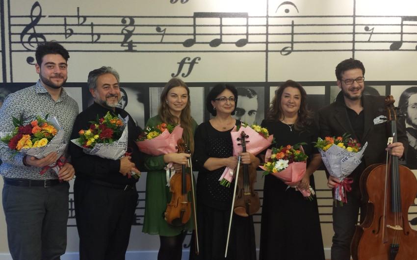 ADA Universitetində İtaliya və Azərbaycan klassik musiqi əsərlərindən ibarət konsert keçirilib