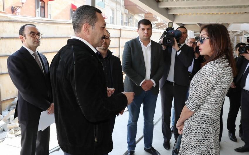 Управление: Первый вице-президент поручила вести работы в Ичеришехер согласно Мастер плану