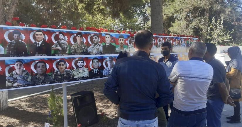 Cəlilabadda Vətən müharibəsi şəhidləri anılıb