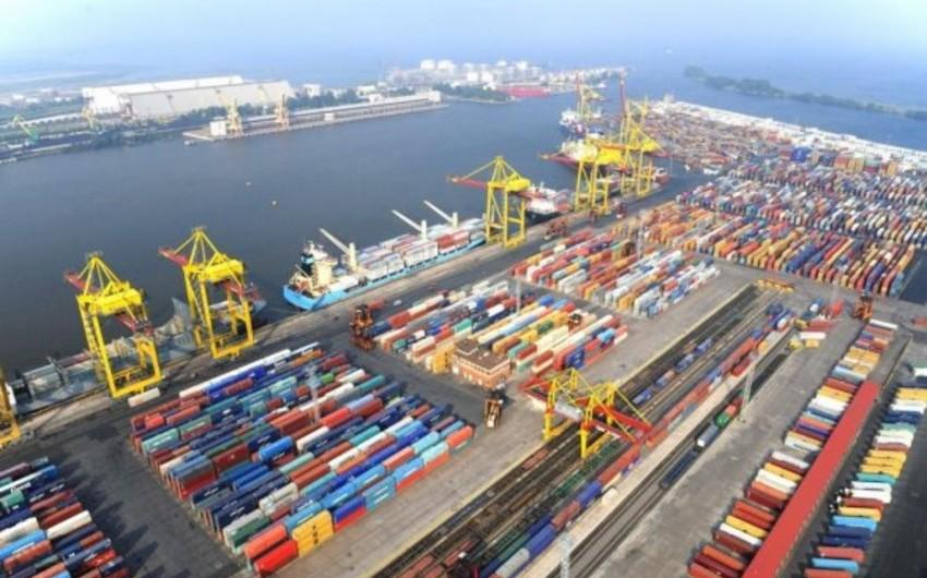 Millionth tons of cargo sent from Kuryk to Baku port