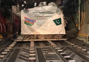 Пакистан направил гуманитарную помощь Азербайджану