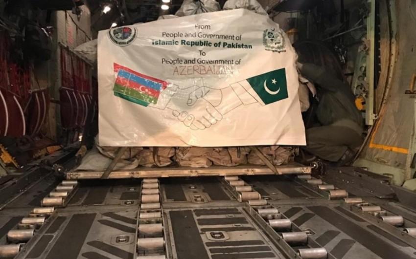 Pakistan Azərbaycana humanitar yardım göndərib