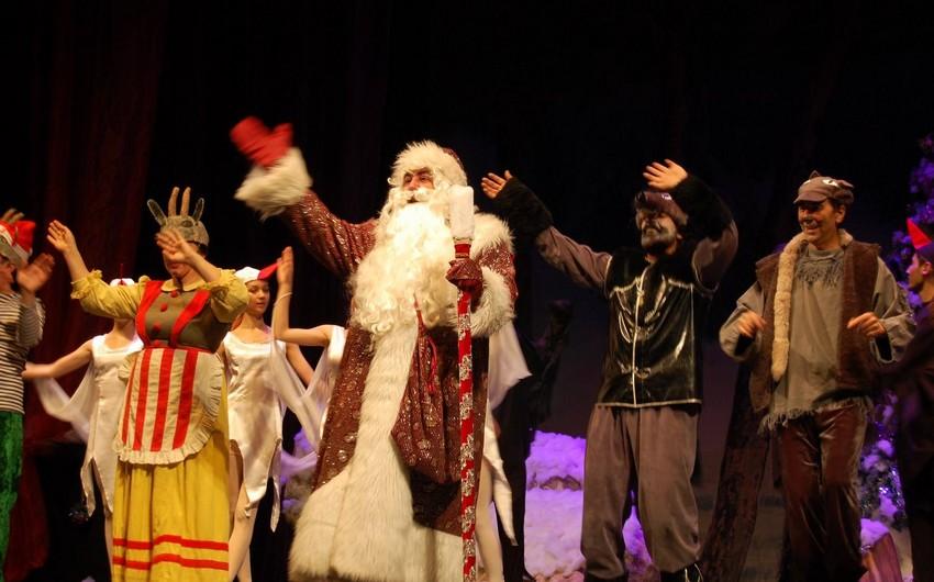 Dövlət Musiqili Teatrında Yeni il şənlikləri başlayıb