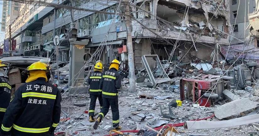 Взрыв газа в китайском Шэньяне повредил около 100 зданий