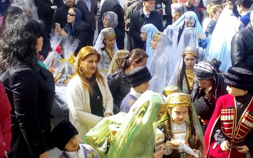 Tbilisidə Novruz bayramı münasibətilə konsert təşkil olunub - FOTO