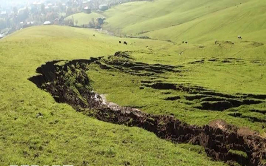 Şamaxıdakı qədim Alban kilsəsinin sürüşmə riski var