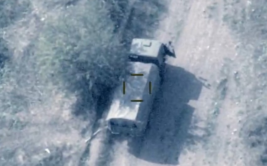 Enemy's sabotage-reconnaissance group destroyed, two military vehicles disabled