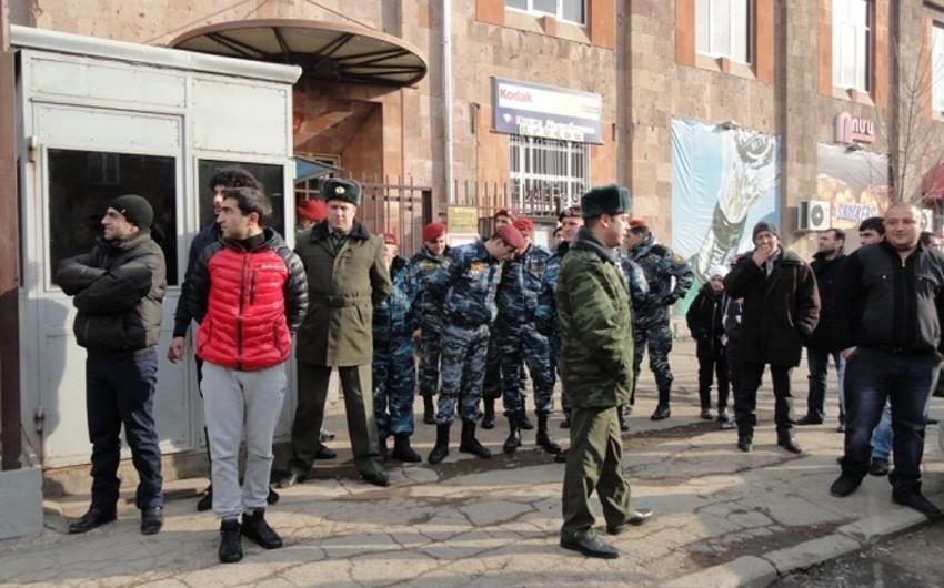 Ermənistanda Rusiya zabitləri tutulub