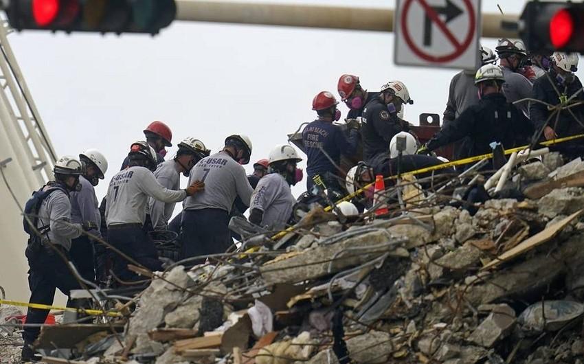 ABŞ-da binanın çökməsi nəticəsində ölənlərin sayı artıb