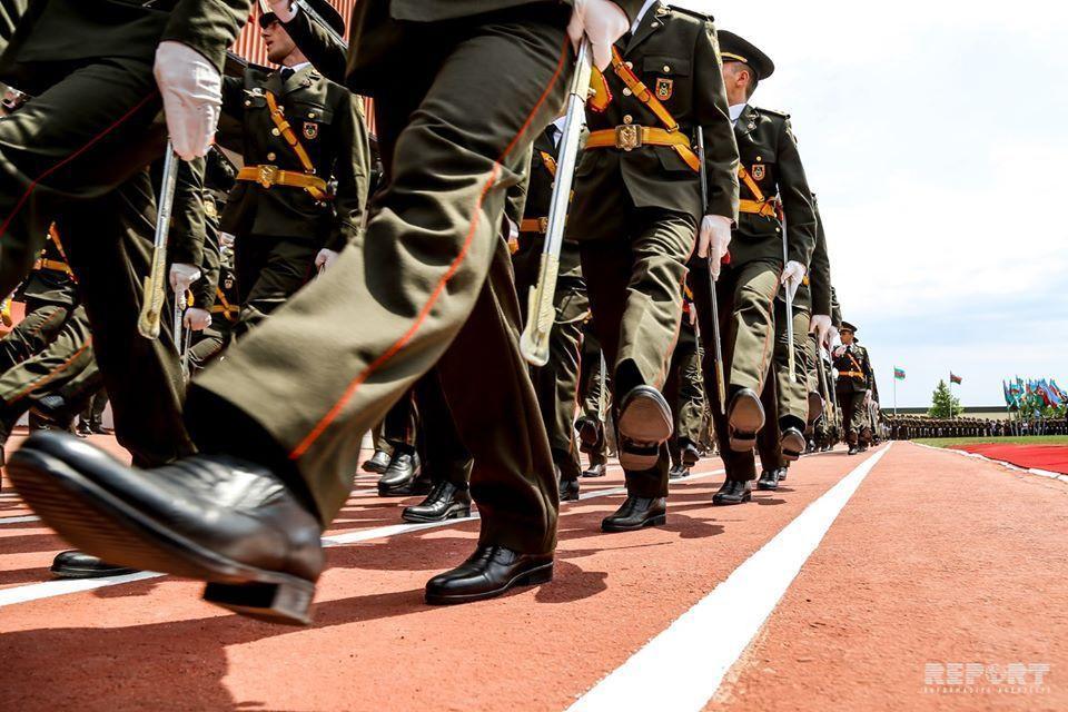102 illik şərəfli yolun davamçıları - hərbi hissədən - REPORTAJ - VİDEO