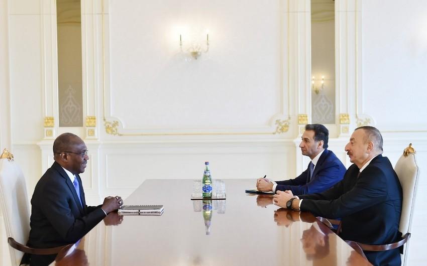 Prezident İlham Əliyev Smart Africa şirkətinin icraçı direktorunu qəbul edib - ƏLAVƏ OLUNUB