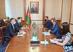 Jeyhun Bayramov meets with Georgian Ambassador to Azerbaijan