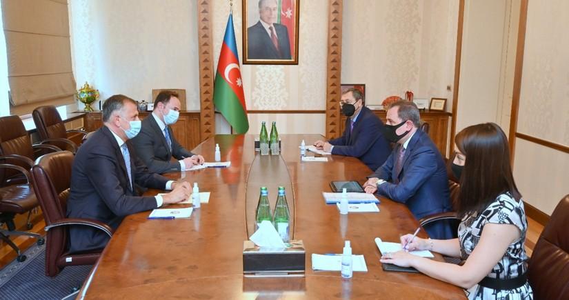 Джейхун Байрамов встретился с послом Грузии в Азербайджане