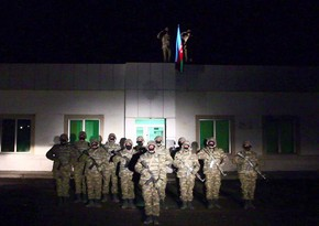 Azerbaijani flag raised in liberated Lachin region