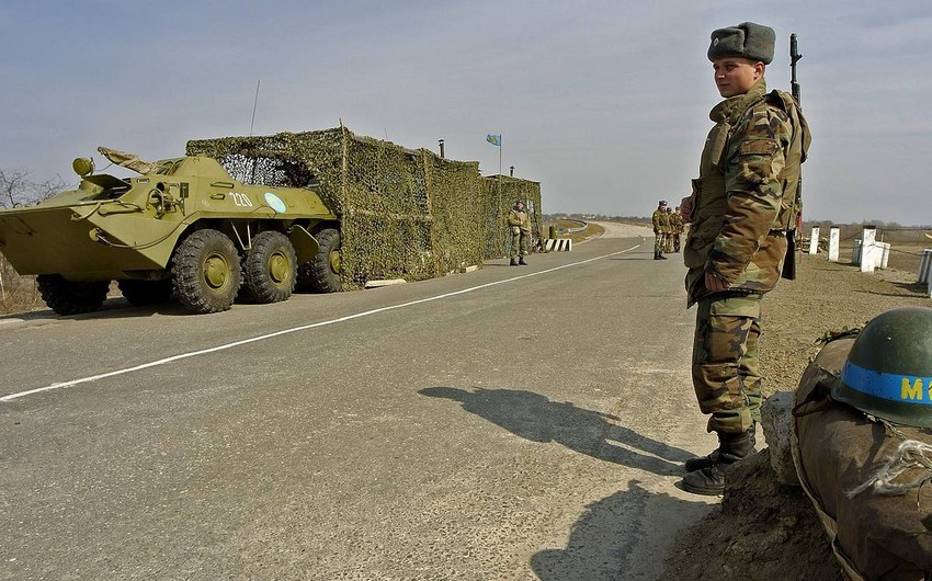 Modular town for Russian peacekeepers built in Karabakh