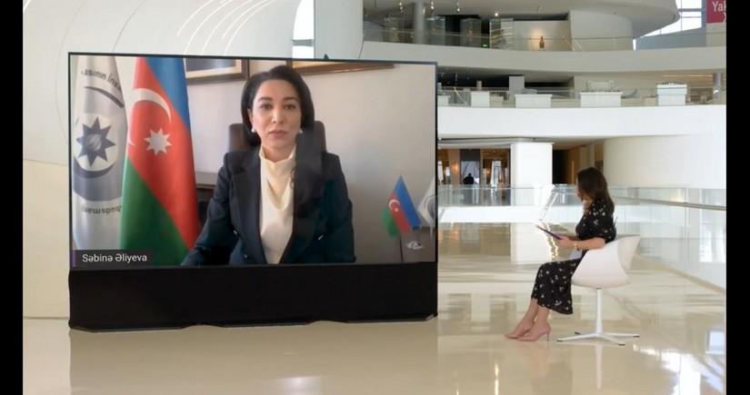 """Ombudsman Səbinə Əliyeva 3-cü """"Fərqli Fərdlər"""" Konqresində iştirak edib"""