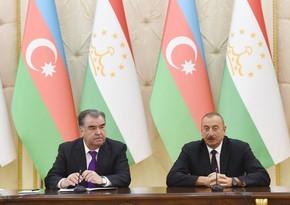 Состоялся телефонный разговор президентов Азербайджана и Таджикистана