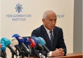 Hüseyn Paşayev YAP-dakı vəzifəsindən azad edildi