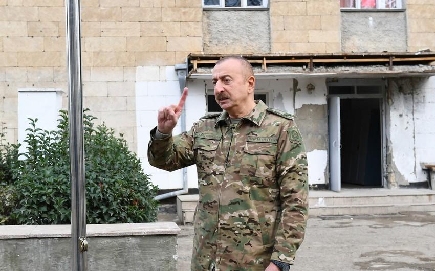 Президент: Ни о каком статусе речи быть не может, есть единый Азербайджан