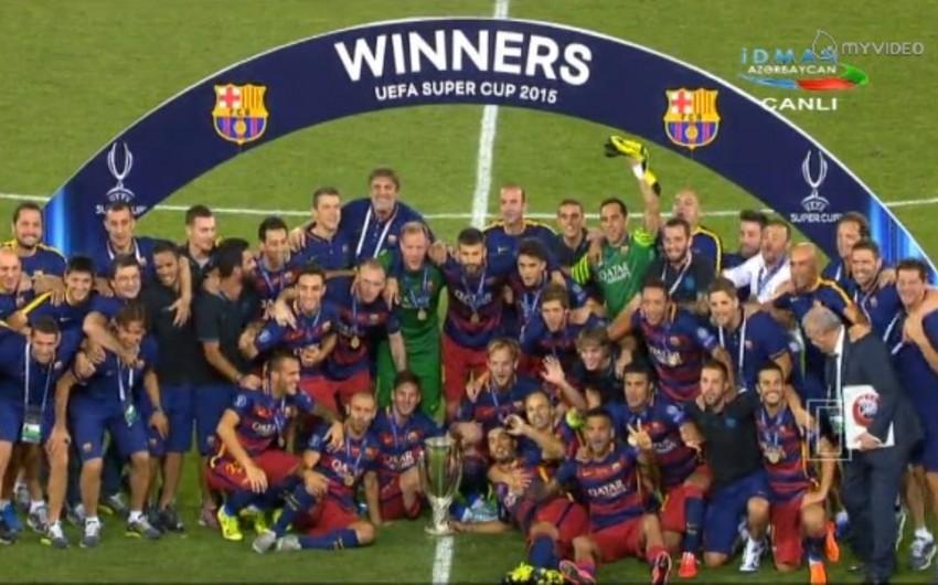 Барселона обыграла Севилью — 5:4 в матче за Суперкубок УЕФА