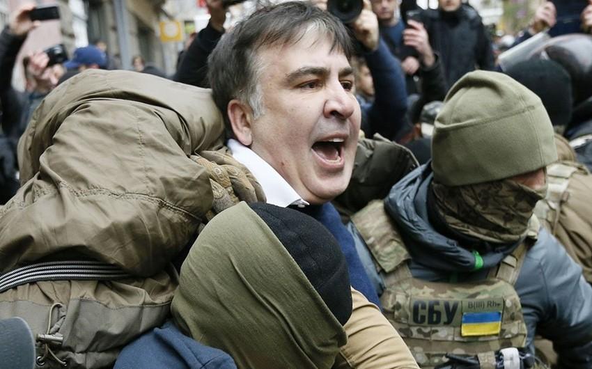 Mixeil Saakaşvili İmpiçment üçün marş keçirmək niyyətindədir
