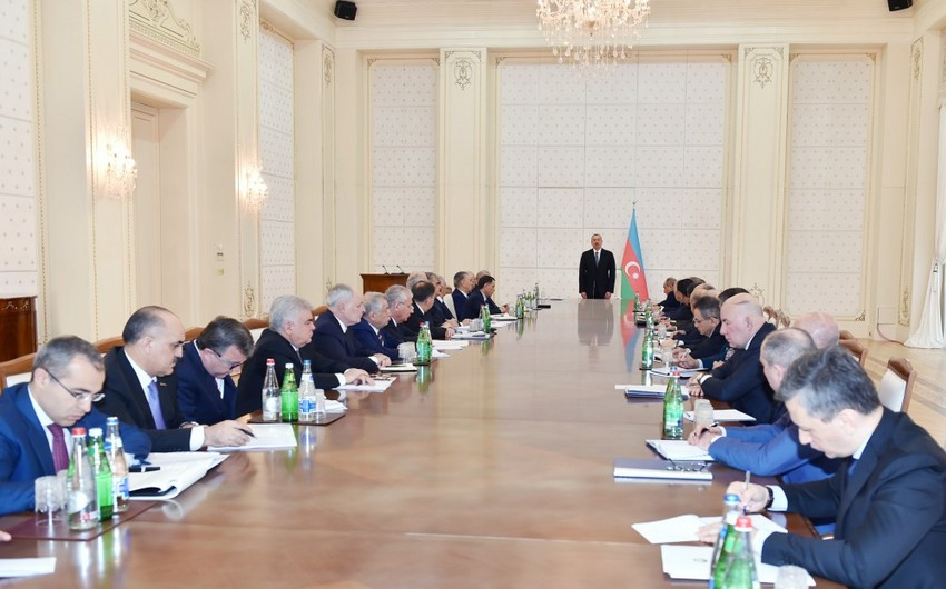 Президент Ильхам Алиев: Азербайджан и впредь будет играть стабилизирующую роль в регионе, стремиться к снижению рисков
