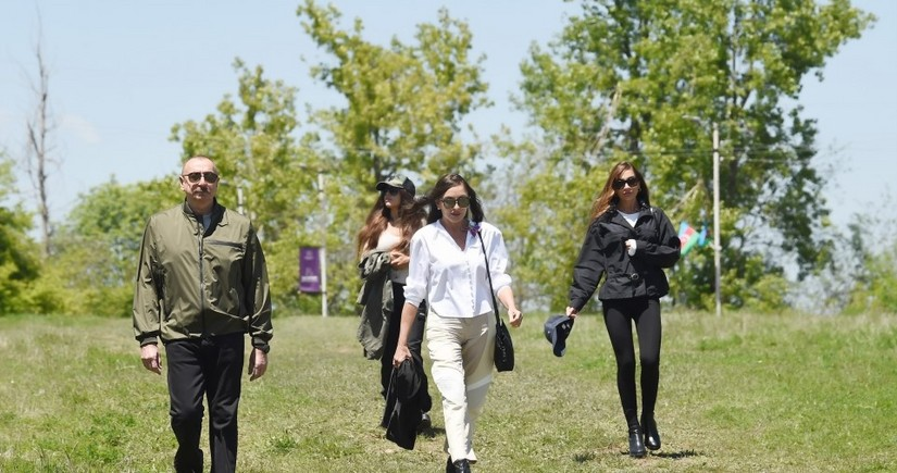 Mehriban Əliyeva: Şuşa 29 ildən sonra yenə doğmalarını, qonaqlarını qarşılayır