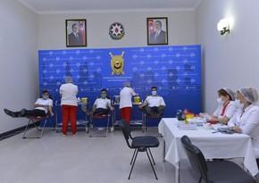 Prokurorluq əməkdaşları qanvermə aksiyasında iştirak etdi