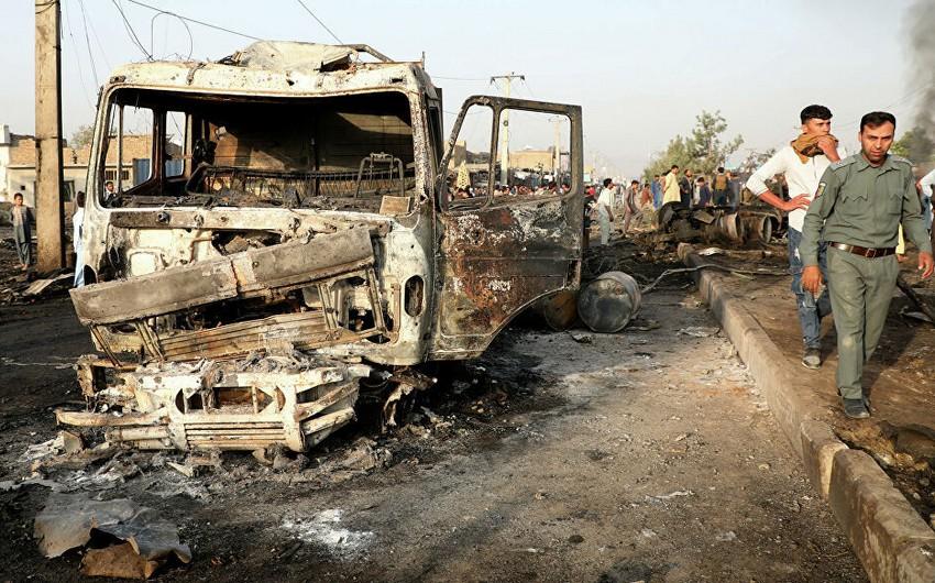Əfqanıstanda partlayışda 15 nəfər öldü, 56-sı yaralandı - YENİLƏNİB