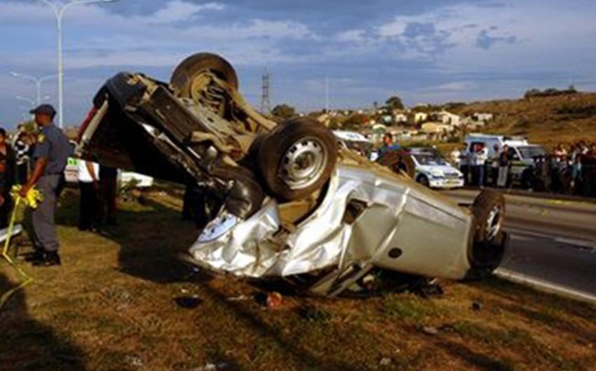 CAR-da hakim partiya üzvlərinin avtobusu aşıb, 11 nəfər ölüb, 59-u yaralanıb