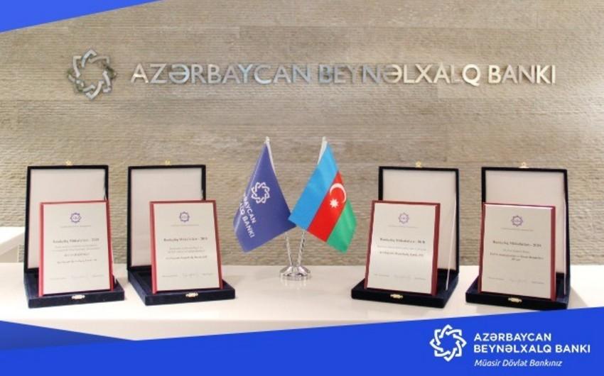 Azərbaycan Beynəlxalq Bankı ən çox mükafat qazanan banklardan biri olub