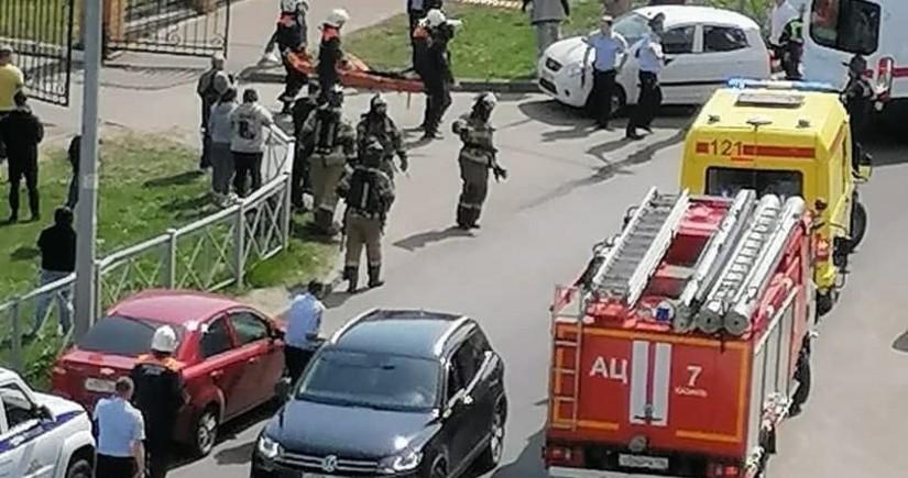 В казанской школе погибли 11 человек, введен режим КТО - ОБНОВЛЕНО 2