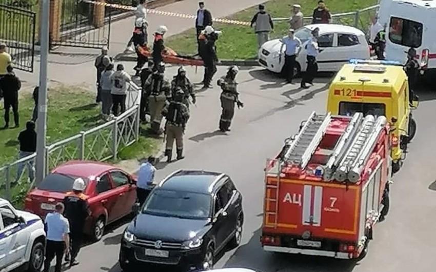 Kazanda məktəbdə atışma zamanı 9 nəfər ölüb – YENİLƏNİB-2