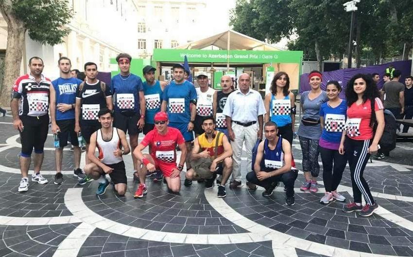 Formula 1 üzrə Azərbaycan Qran Prisinə həsr olunan marafon keçirilib