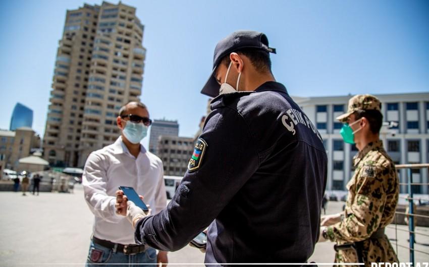 Bakıda polis naryadlarının sayı artırılıb - FOTOREPORTAJ