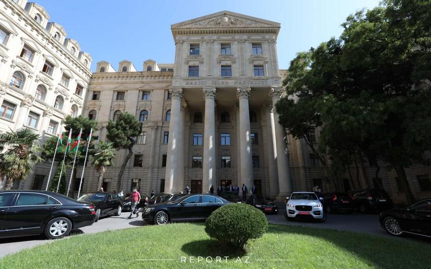 XİN: Ermənistanın törətdiyi müharibə cinayətlərinə dair çoxsaylı faktların araşdırılmasını tələb edirik