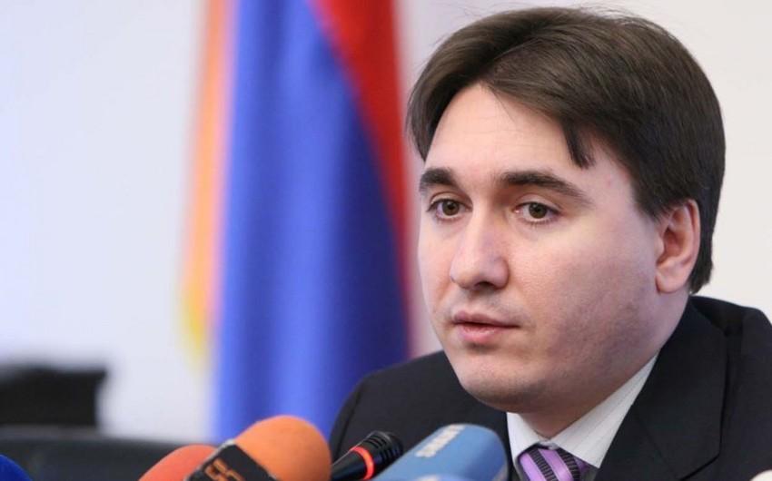 Ermənistan baş nazirinin keçmiş müavini də istintaqa çağırılıb
