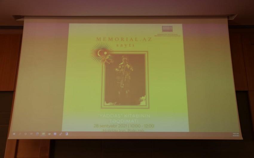 Состоялась презентация сайта Memorial.az и Книги памяти