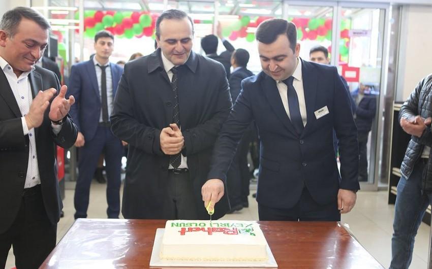 """Bakıda """"RAHAT"""" supermarketlər şəbəkəsinin daha bir filialı açıldı - FOTO"""