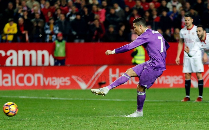 Kriştianu Ronaldu Real Madridin sabiq futbolçusunun rekordunu təkrarlayıb