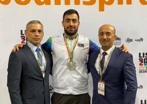 Азербайджанский спортсмен завоевал серебряную медаль на турнире Премьер-лиги Karate1