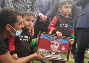 Martyred serviceman of Azerbaijani Army buried in Masalli