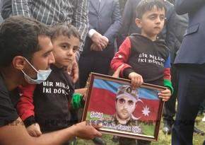 Azərbaycan Ordusunun şəhid hərbi qulluqçusu dəfn olunub - VİDEO - YENİLƏNİB