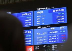 Tokio birjasında əsas indekslər uzun fasilədən sonra ilk dəfə 30 min bəndi keçib