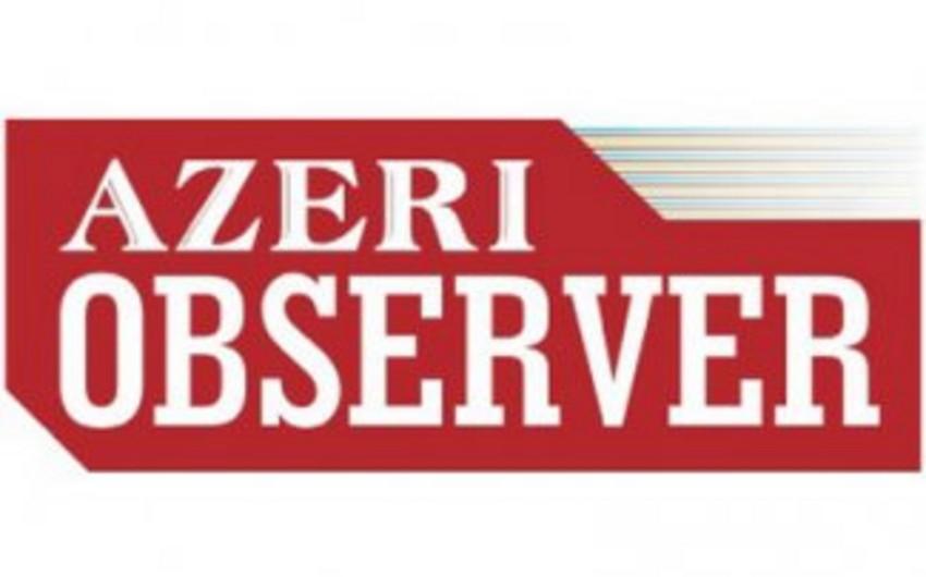 """""""Azeri observer"""" jurnalının təqdimatı keçirilib"""