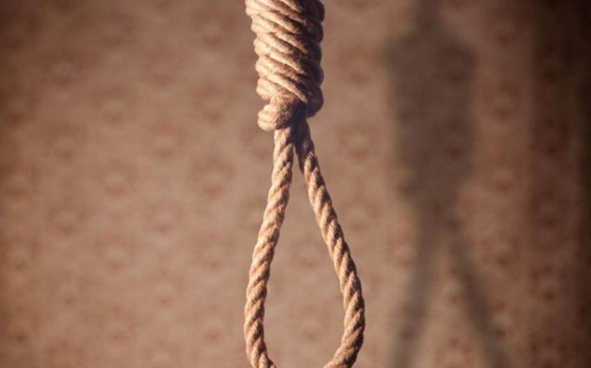 Bakıda 25 yaşlı kişi intihar edib