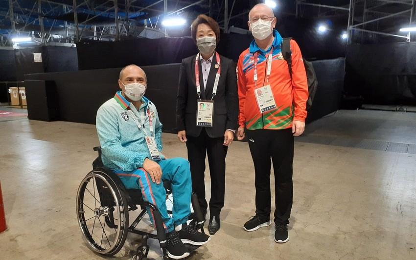 Глава оргкомитета Токио-2020 поздравила азербайджанских паралимпийцев