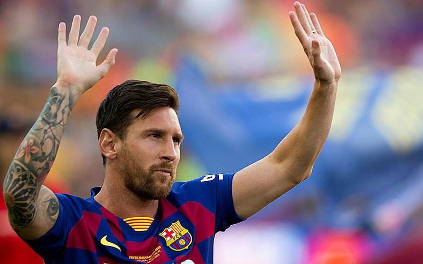 Lionel Messi: Barselona - mənim evimdir, getmək istəmirəm